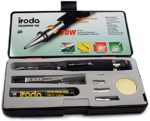 Iroda SOLDERPRO 70 Cordless Refillable Soldering Butane and Sale SALE% OFF Iron Max 51% OFF