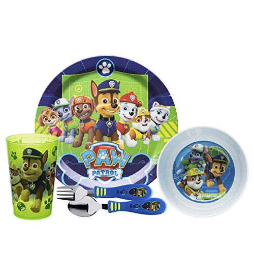 Paw Patrol 5 Piece Dinnerware Set