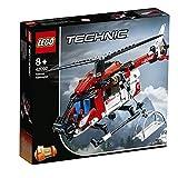 LEGO Technic ElicotterodiSalvataggio, Velivolo di Soccorso Giocattolo 2 in 1,Set da Costruzione per Bambini e Bambine dagli 8 Anni in su, 42092