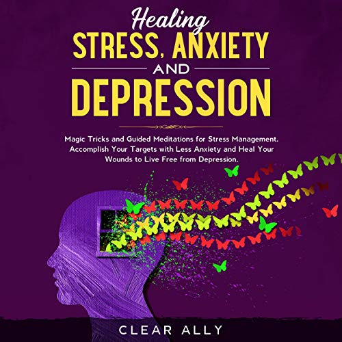 Couverture de Healing Stress, Anxiety and Depression