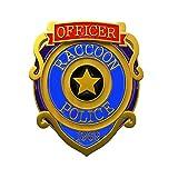 Pluscraft バイオハザードRe3 バッジ ラクーン ポリス 警察署 エンブレム コレクション