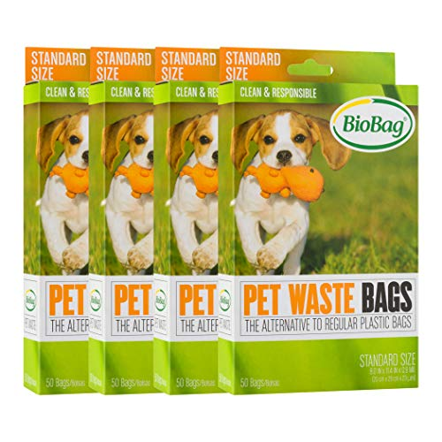 BioBag Compostable Pet Waste Bags, Standard Size,...