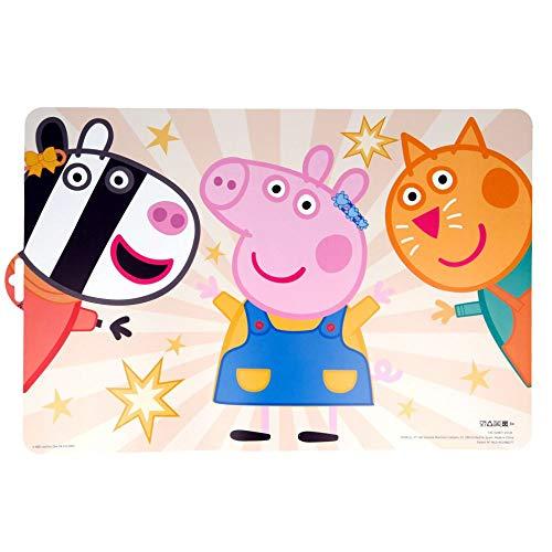 Tisch-Unterlage Peppa Pig | Peppa Wutz | Platz-Set-Deckchen | 28 x 41 cm
