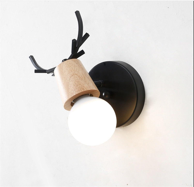 Wandlampe,stoere beinhaltet Licht Wandleuchte,Holzgalerie ...