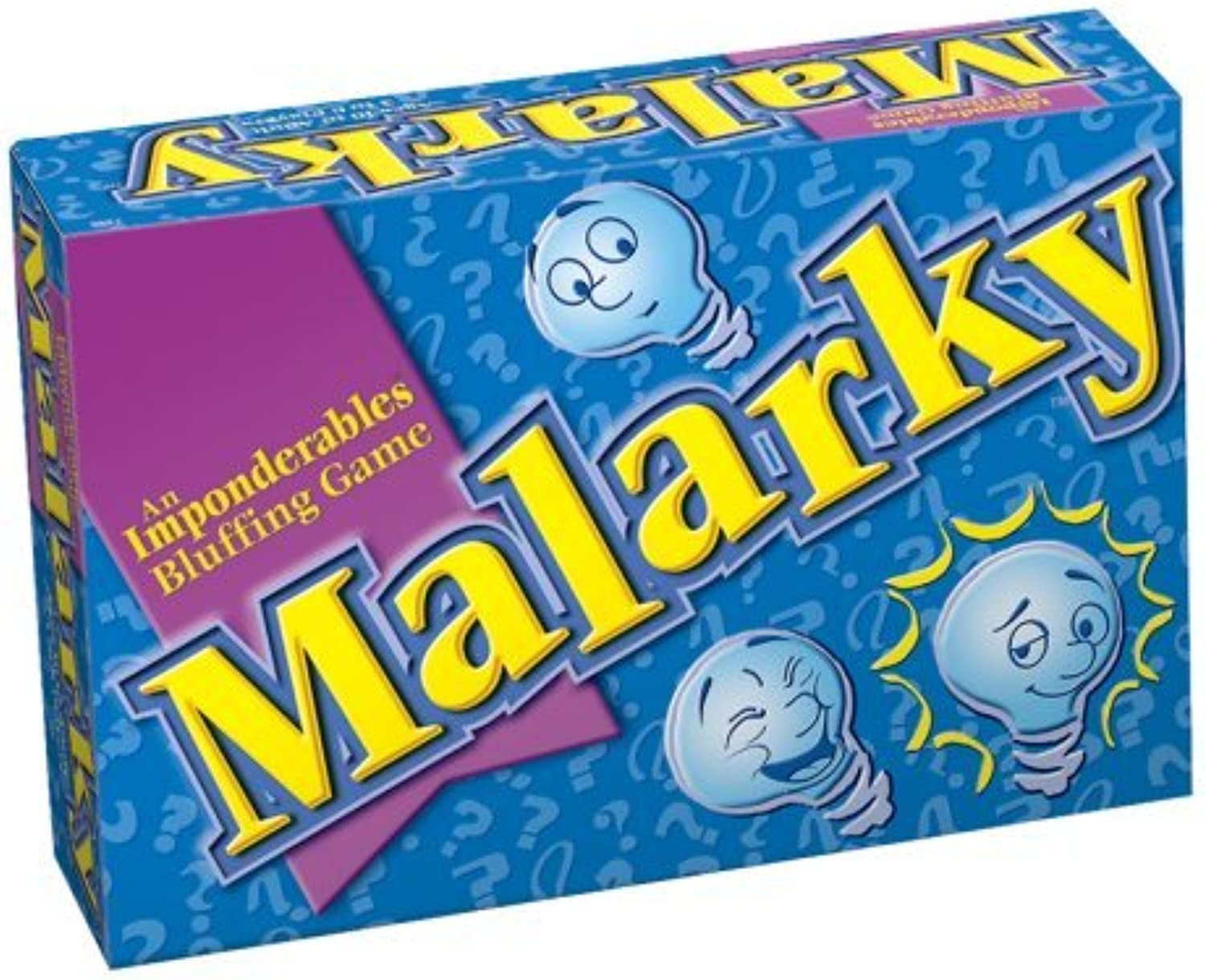 Malarky An Imponderables Blauffing Game by Patch Products Inc.