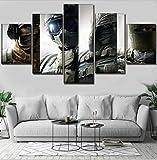 CHUADIAD Hd Home Decoration Leinwand 5 Stück Rainbow Six