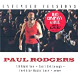 Songtexte von Paul Rodgers - Extended Versions