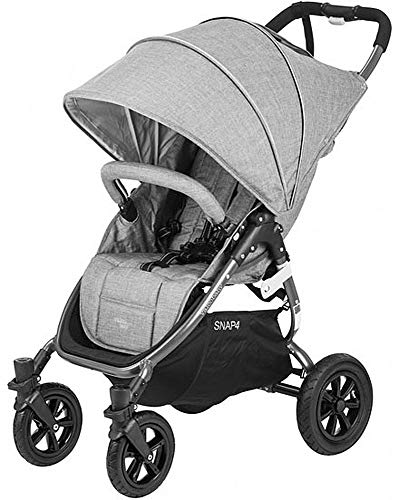 Valco Baby Original Snap 4 SPORT Single Stroller AIR Wheels (Tailormade Gray Marle)