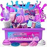 Original Stationery Mini Unicorn Slime Kit para Niñas Niñas - Fabrica Slime de Unicornio, de Colores, Brillante, de Espuma, Fluffy, de Nube y Mucho más