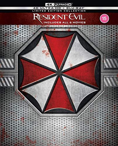 Resident Evil / Resident Evil: Afterlife / Resident Evil: Apocalypse / Resident Evil: Extinction / Resident Evil: Retribution / Resident Evil: The Final Chapter - Set [Blu-ray] [UK Import]