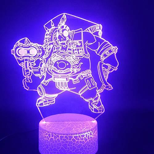 Einzigartiges Geschenk der Hellen Grundfarbe des Hellen Babys mit Fernsteuerungsatmosphärennachtlicht