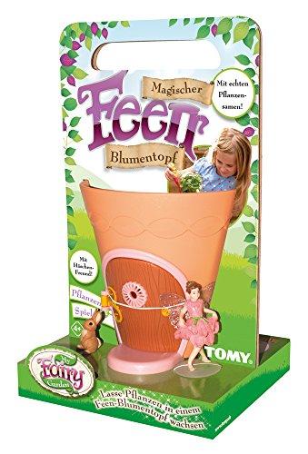 My Fairy Garden E72781DE, Samen Pflanzen & Spielen, Magischer Kinder ab 4 Jahre, Blumentopf selber bepflanzen & mit Feen-Figur spielen, Kreativset Mädchen