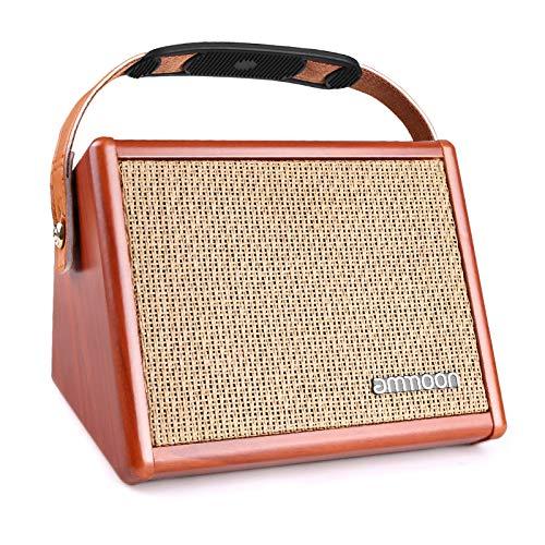 Fesjoy AC-15 15W Amplificador de Guitarra acústica portátil Amplificador BT Altavoz con...