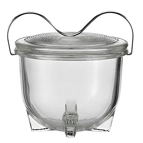 Jenaer Glas 114334 Eierkoch, Borosilikat-Glas und Edelstahl, 0,13 Ltr