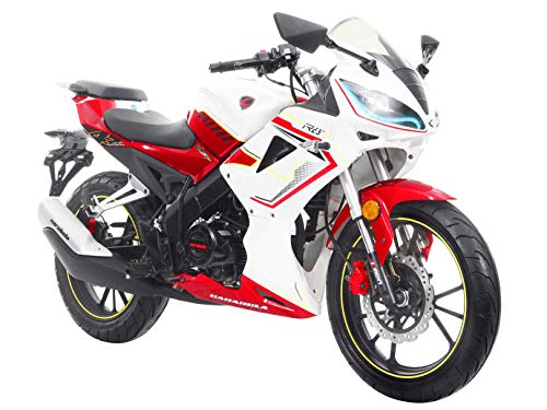 Moto Carabela R8S 250 Blanco/Rojo