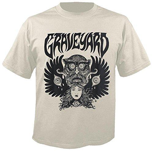 Graveyard - Monstertryck - T-Shirt Größe L