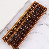 BINGHONG3 Soroban Abacus, Columna de 13 dígitos, Abacus, aritmética, calculadora, Contador de matemáticas, Herramienta de Aprendizaje para la Escuela y la Oficina