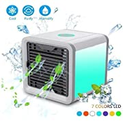 AIVANT Portable Air Cooler, USB Powered 3 Speed Modes Personal Evaporative Air Conditioner/Humidifier, Ideal for Office, Bedroom, Outdoor