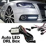 Controlador automático de luces diurnas para coche, graduales, intermitentes LED, DRL
