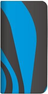 mitas Galaxy NOTE 5 SM-N9200 ケース 手帳型 ベルトなし パターン柄 ブルーグレー (262) NB-0132-BG/SM-N9200