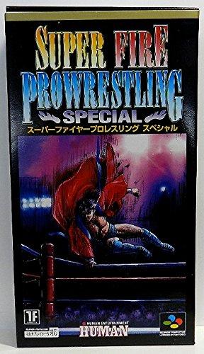 Super Fire ProWrestling Special Nintendo Super Famicom [Import Japan]