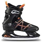 K2 F.I.T. Ice Boa Patines de Hielo, Hombre, Negro y Naranja, EU: 44.5 (UK: 10 / US: 11)