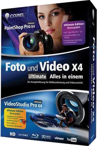 Corel Foto und Video X4 Ultimate - Alles in einem