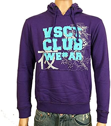 VSCT - Sweat-Shirt à Capuche - Sweat à Capuche - Homme Violet violets