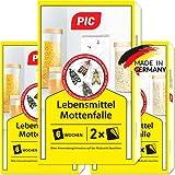 PIC Lebensmittel-Mottenfalle - Dreierpack = 6 Stück -...