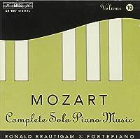 Solo Piano Music-Vol.10 by W.A. Mozart (1997-05-03)