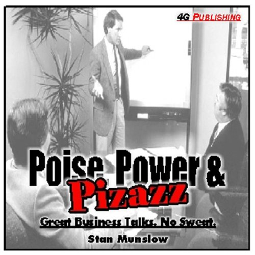 Poise, Power & Pizzazz audiobook cover art
