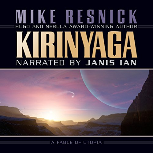 Kirinyaga audiobook cover art