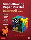 Mind-Blowing Paper Puzzles Ebook: Build Interlocking 3D Animal and Geometric Models (English Edition)
