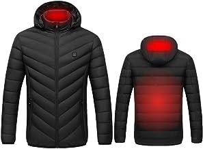 per lavori allaperto e per luso quotidiano caldo impermeabile giacca riscaldata da uomo e da donna riscaldabile a 3 temperature antivento gilet riscaldato USB ARTOCT gilet riscaldato USB