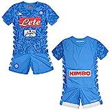 SSC Napoli kit Equipación de juego local junior azul cielo fantasía, azul, 14 anni