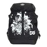 SM SunniMix Sports Skate Bag Roller Inline Skates Backpack - Black A, 45x32x18cm