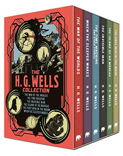 The H. G. Wells Collection: Deluxe 6-Volume Box Set Edition (Arcturus Collector