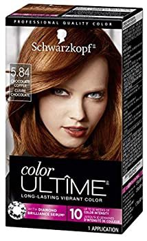 Schwarzkopf Color Ultime Hair Color Cream 5.84 Chocolate Copper  Packaging May Vary