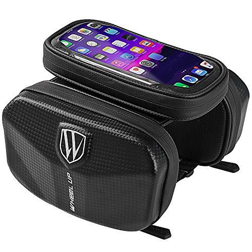 YSAGNZQ Telefoonhouder Fiets, EVA Anti-Splashing Beam, Voorlader Mountainbike Tas, Kan In Een 6.0-Inch Smartphone