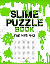Slime Puzzle Book: For Kids 9-12 Word Search, Word Match, Scramble, Cryptogram, & Sudoku Puzzles
