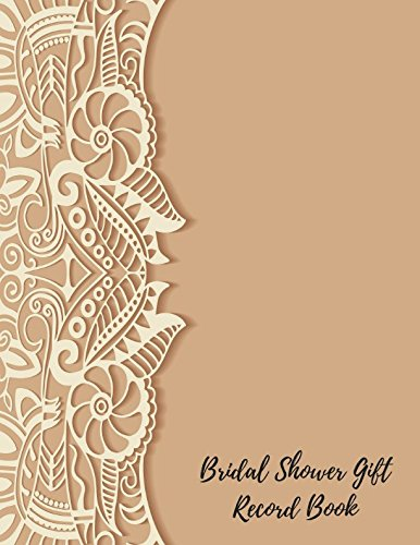 Bridal Shower Gift Record Book: Gift Log