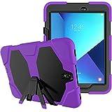 Lobwerk 3in1 Outdoor Tabletschutz für Samsung Galaxy Tab S3 9.7 Zoll (SM-T820 / SM-T825) stoßfestes Hardcase und Silikonrahmen Tablet Hybrid