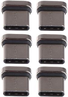 KESOTO Adaptador de Cabeça Micro USB 6pcs E04 Carregador de Pontas Magnéticas