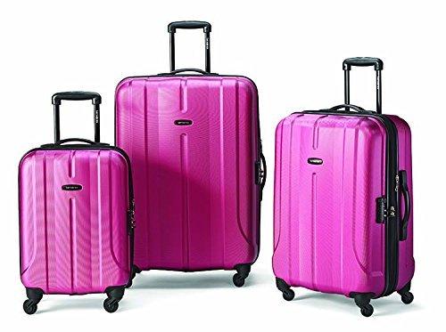 Samsonite Luggage Fiero HS 3 Piece Nested Set, Purple, One Size
