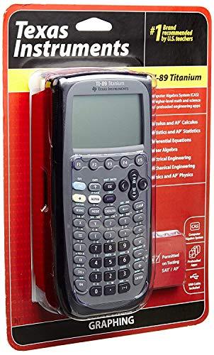 Texas Instrument Ti 89 Titanium Programmable Graphing Calculator (Renewed)