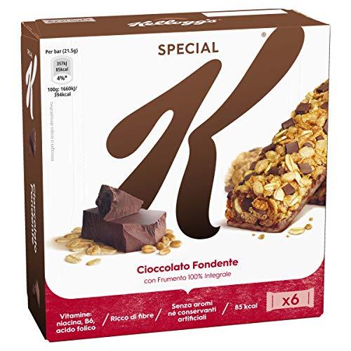 Kellogg's Barrette Cioccolato Fondente con Frumento 100%...