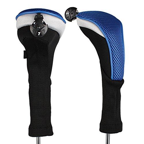 Andux CTMT-02 Golf-hybride racket met lange hals, verwisselbare nummerhanger, 2 stuks -