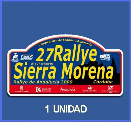 Ecoshirt Q3-XX2J-V0WG Pegatinas Stickers Sierra Morena 2009 Dp569 Aufkleber Autocollants Adesivi Car Decals Rally Rallies