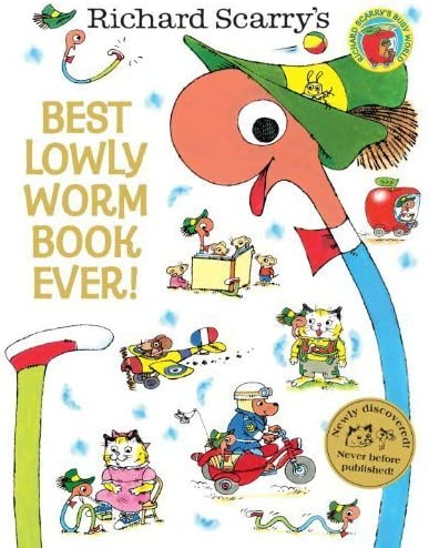 Best Lowly Worm Book Ever by Scarry Richard 2014 Hardcover product image