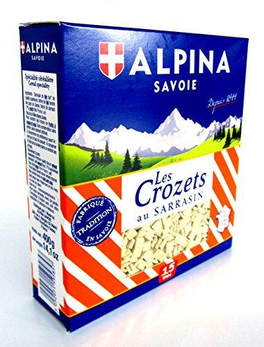 Alpina Savoie französische Crozets Nudeln Sarrasin Buchweizen Nudeln 400 g
